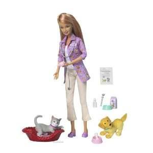 Barbie Forever Pet Doctor Barbie Doll Toys & Games