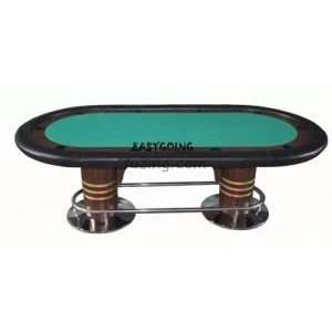 High Roller 10 Player Poker Table