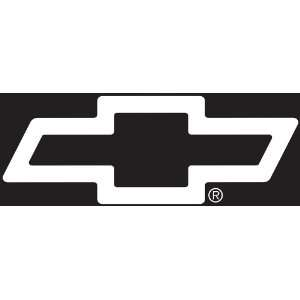 Chevy Logo Cutz Rear Window Decal: Automotive