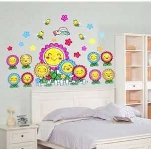 Flowers removable Vinyl Mural Art Wall Sticker Decal