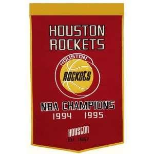 Houston Rockets NBA Dynasty Banner (24x36)  Sports