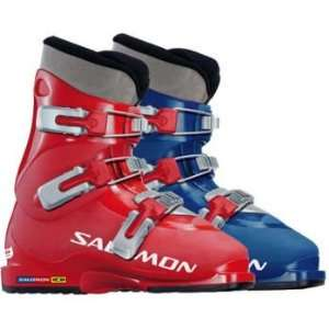 SALOMON PERFORMA T3 SKI BOOTS   22   BLACK BLUE: Sports