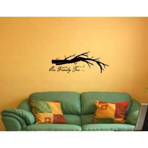 FAMILY TREE Vinyl wall quotes stickers sayings home art decor decal