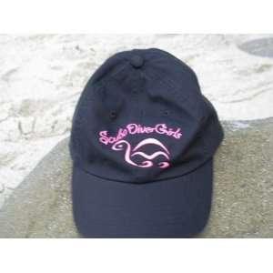 Scuba Diver Girls Baseball Cap Hat Dive Diving Hat Sports