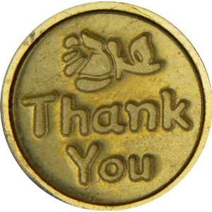 Thank You with Rose Wax Seal Stamp with Ceramic Handle