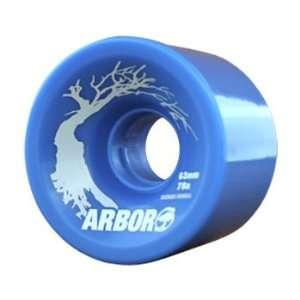 Arbor 4 Set Hybrid Series Skateboard Wheels w/ Free B&F Heart Sticker