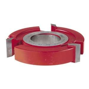 Freud UP144 3 Wing 3/4 Inch Straight Edge Shaper Cutter, 1 1/4 Bore