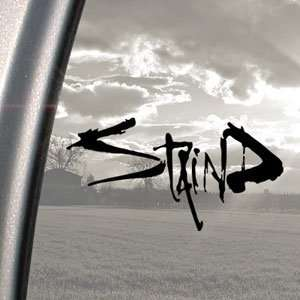 Staind Black Decal Rock Band Car Truck Bumper Window