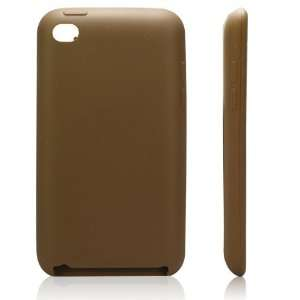 High Quality Brown Soft Silicone Protective Case Cover for iPod
