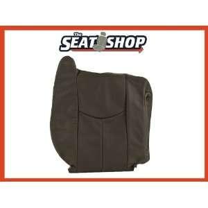 04 05 06 Chevy Silverado GMC Sierra Graphite Leather Seat Cover RH top