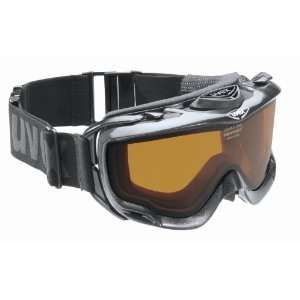 UVEX Orbit Optic Electric Over the Glasses Ski Goggles,Black Frame