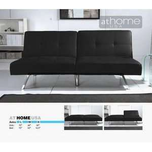 Astro Black Sofa Bed by At Home USA