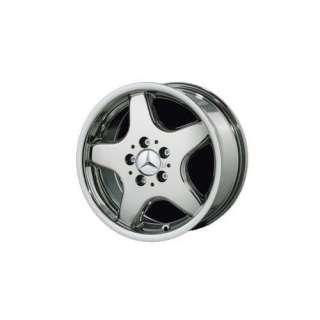 16 5 Spoke AMG Style Chrome Wheels for Mercedes Benz