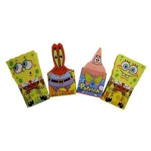 Nickelodeon Spongebob Erasers (4 Pieces)  oys & Games