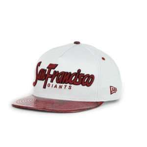 San Francisco Giants New Era MLB Red Mamba Strapback Cap