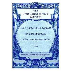 Horn Concerto No. 1, Op .11 by Richard Strauss. COMPLETE