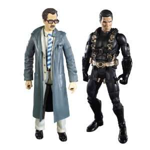 Batman Legacy Batman Begins Prototype Suit Batman And Lt. Jim Gordon
