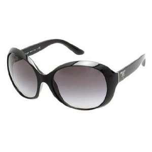 Prada Sunglasses PR04OS / Frame Black Lens Gray Gradient