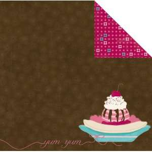Yum Sweet Tooth Double Sided Heavy Weight Paper 12X12 Bo