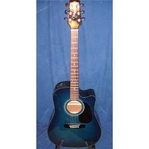Takamine EG 330C Acoustic/Electric Guitar With Case