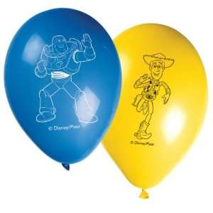 Disney Toy Story 3 Latex Balloons (Pack Of 8) Kitchen