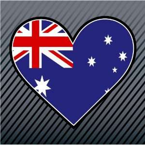 Australia Heart Flag Car Trucks Sticker Decal Everything Else