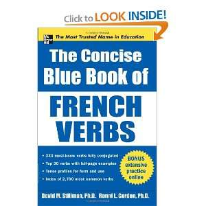 The Concise Blue Book of French Verbs (Big Book Series