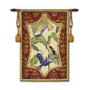 Aviary II Tapestry Wall Hanging