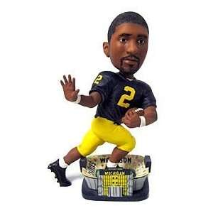 Wolverines Charles Woodson Bobble Head Doll