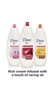 Dove Creamy Cream Oil Body Wash, Cherry Blossom and Almond