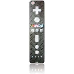 NASCAR Logo on Metal Vinyl Skin for Wii Remote Controller Electronics