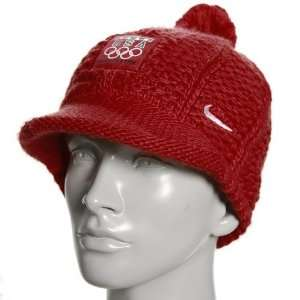 Nike 2010 Winter Olympics Team USA Ladies Red Medal Stand Knit Beanie