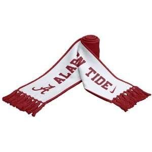 Nike Alabama Crimson Tide White Winter Wraparound Scarf