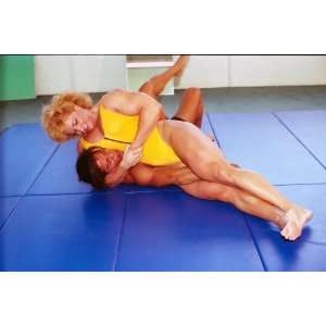 Women Wrestling DVD   Mixed Mat Action   LSP PP165   featuring Kris