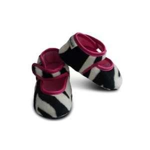 Baby Bella Maya Zebra Booties Baby