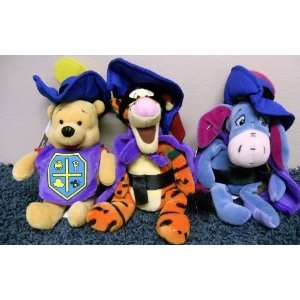 Bear Musketeer 9 Plush Bean Bag Doll Set New with Tags Toys & Games