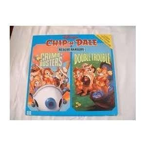 Chip n Dale Rescue Rangers  Crime Busters/Double Trouble Laserdisc