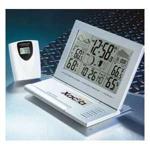 Xacta Atomic Clock & Weather Station: Home & Kitchen