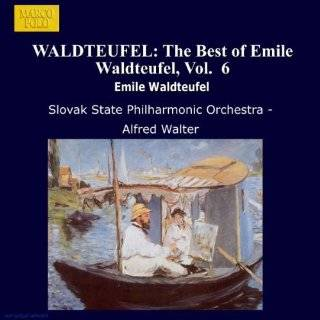 WALDTEUFEL The Best of Emile Waldteufel, Vol. 11 Alfred