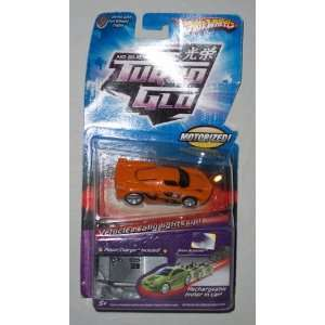 Hot Wheels Turbo Glo Nitro Scorcher Orange Paint Job