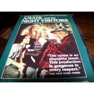 Amahl & the Night Visitors Com [VHS] G.C. Menotti Movies