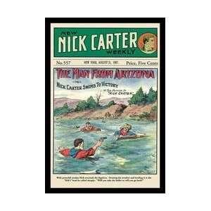 Nick Carter The Man from Arizona 20x30 poster