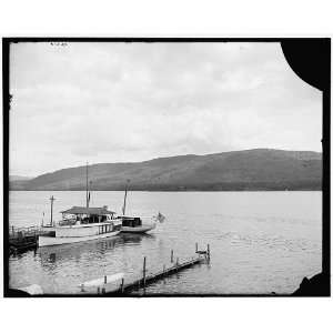 Across the lake from Lake House (hotel) grounds,Lake George,N.Y. Home