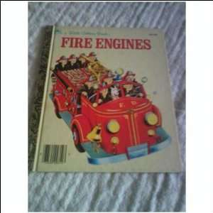 THE LITTLE GOLDEN FIRE ENGINE BOOK Books