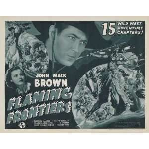 Flaming Frontiers Poster Movie B 11 x 14 Inches   28cm x