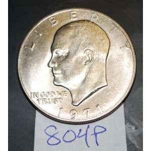 : 1971 U.S. SIlver Eisenhower Dollar   no mint mark: Everything Else