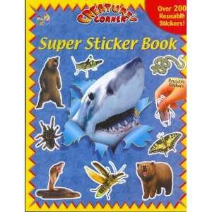 Creatures Corner (Super Sticker Books) (9782764301296