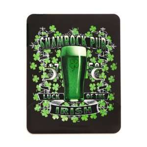 iPad 5 in 1 Case Matte Black Shamrock Pub Luck of the Irish 1759 St