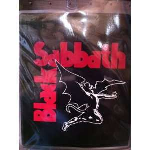 Black Sabbath Winged Demon Queen Size Luxury Plush Blanket