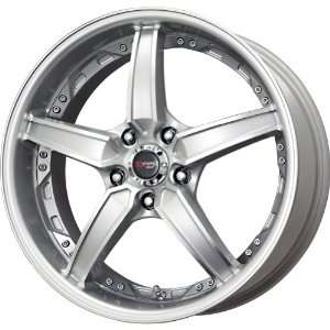 Drag DR 39 Silver Machined Wheel (17x8/5x114.3mm)